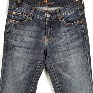 7 For All Mankind bootcut jean size 26